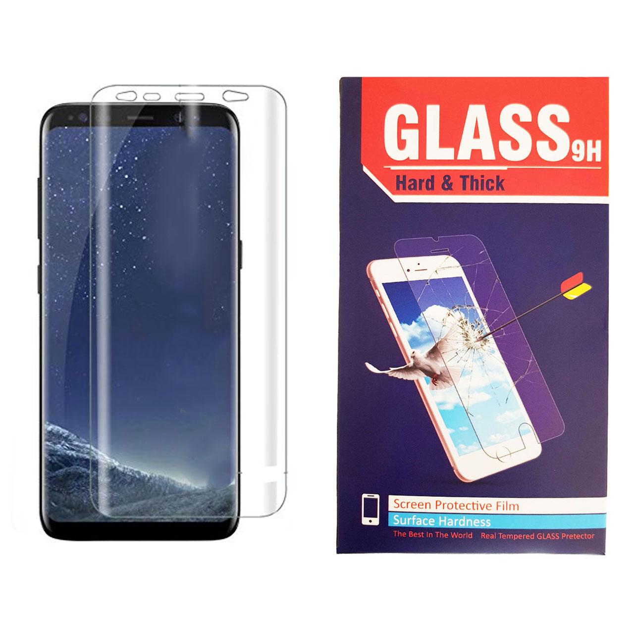 محافظ صفحه نمایش تی پی یو Hard and thick مدل TPU Full Cover مناسب برای گوشی موبایل سامسونگ GALAXY S8