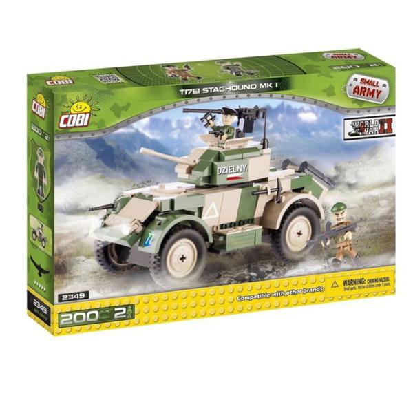 لگو کوبی مدل small army-T17EI staghoundmik 1