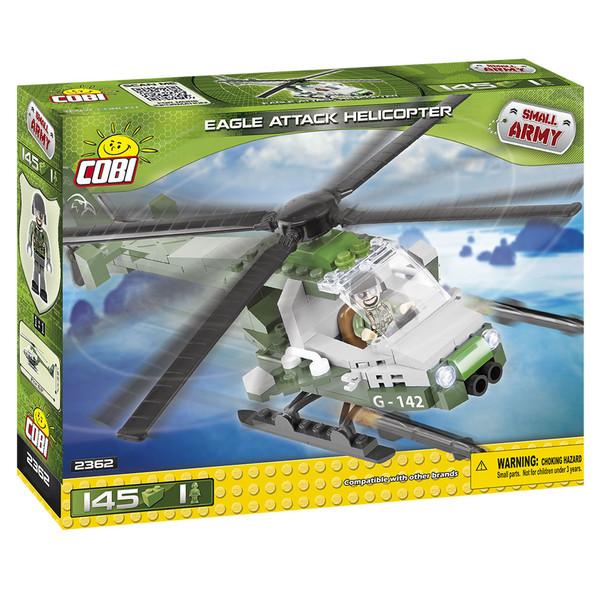 لگو کوبی مدل eagle attack helicopter-small army