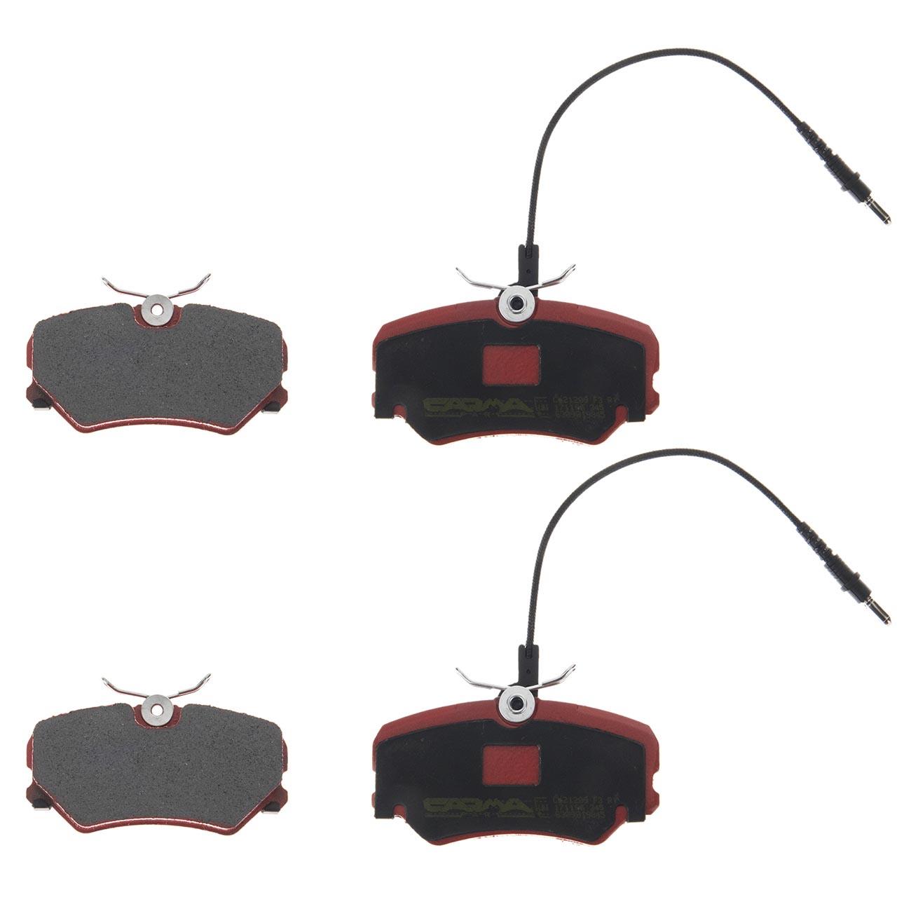 لنت ترمز جلو کارما دیسکی مناسب برای خودرو آریسان بسته 2جفتی