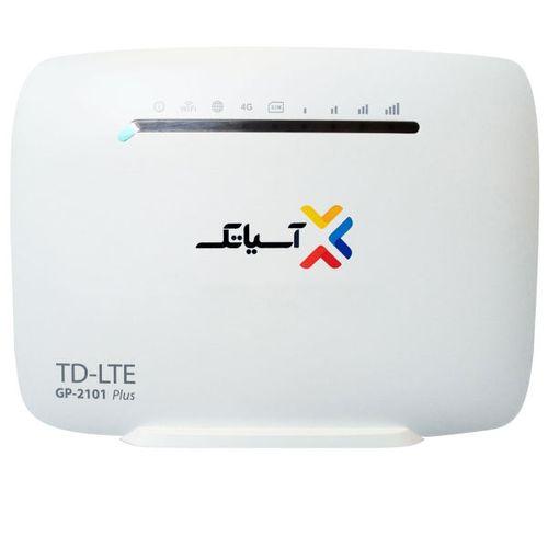 مودم TD-LTE آسیاتک مدل GP-2101 plus به همراه 9 گیگابایت اینترنت 3 ماهه