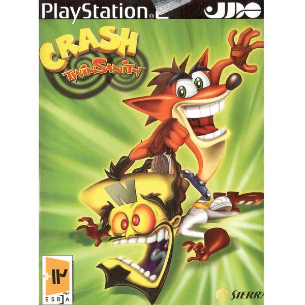بازی Crash Twinsanithمخصوص پلی استیشن 2