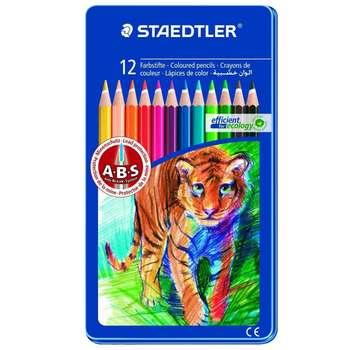 مداد رنگی 12 رنگ استدلر مدل  145AM12
