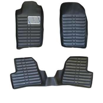 کفپوش سه بعدی خودرو مدل 16 مناسب برای پژو 206