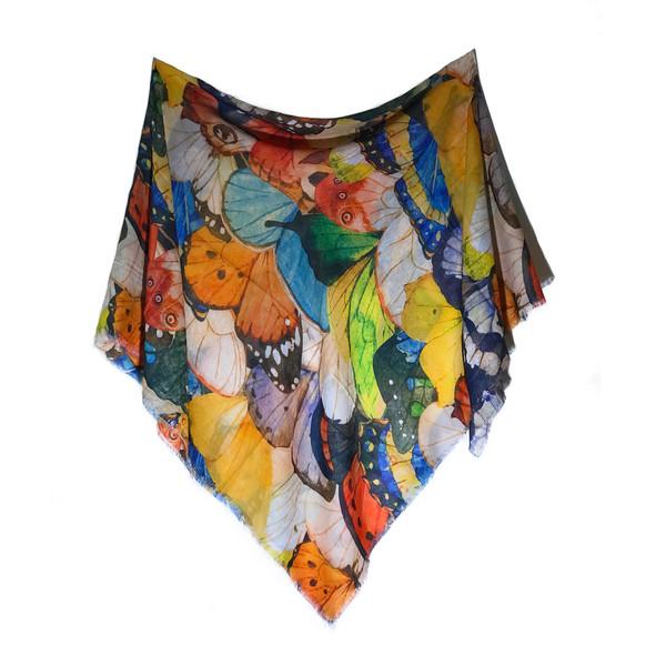 روسری زنانه مدل پروانه کد S1301
