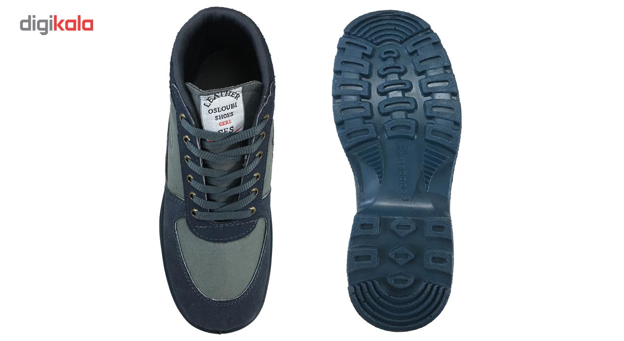کفش کوهنوردی مردانه اسلوبی مدل دماوند کد 2701