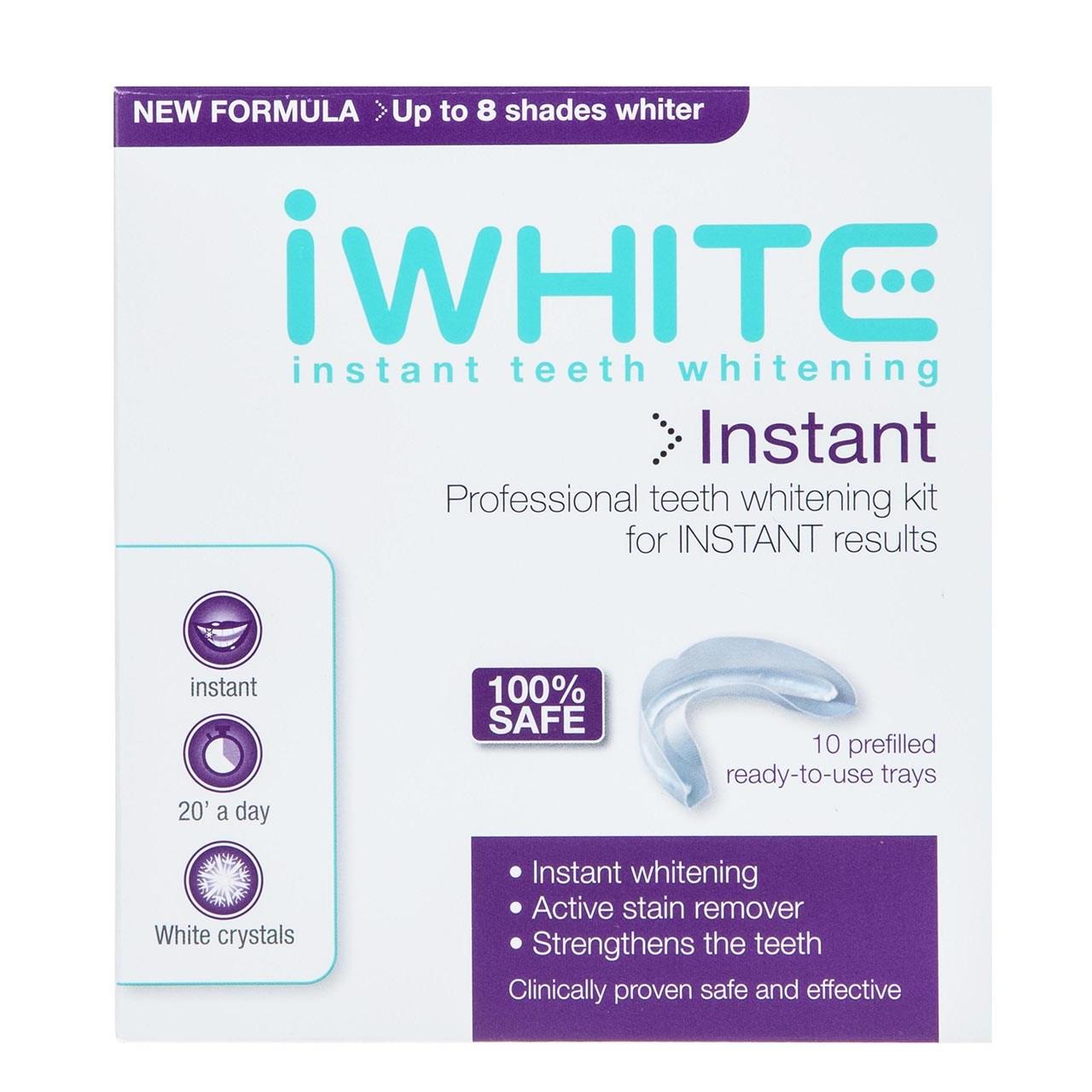 پک سفید کننده دندان آی وایت بسته 10 عددی