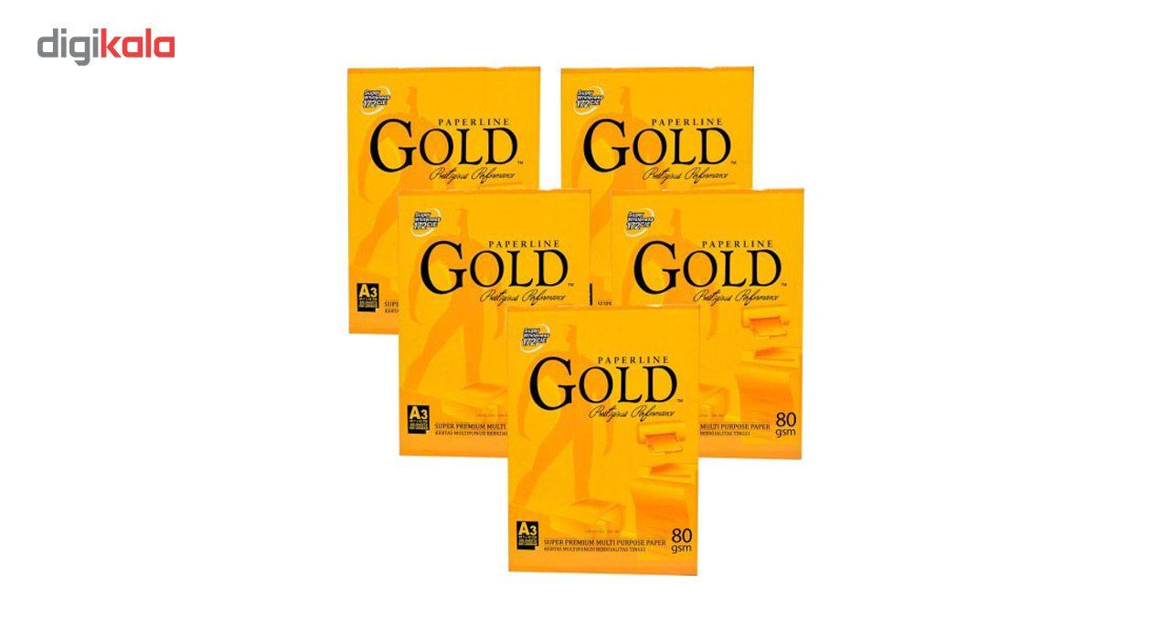 کاغذ A3 گلد 80 گرمی بسته 500 عددی main 1 2
