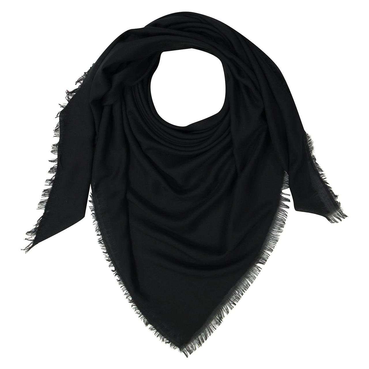 قیمت روسری زنانه مشکی کد 448