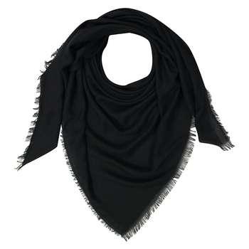 روسری زنانه مشکی کد 448