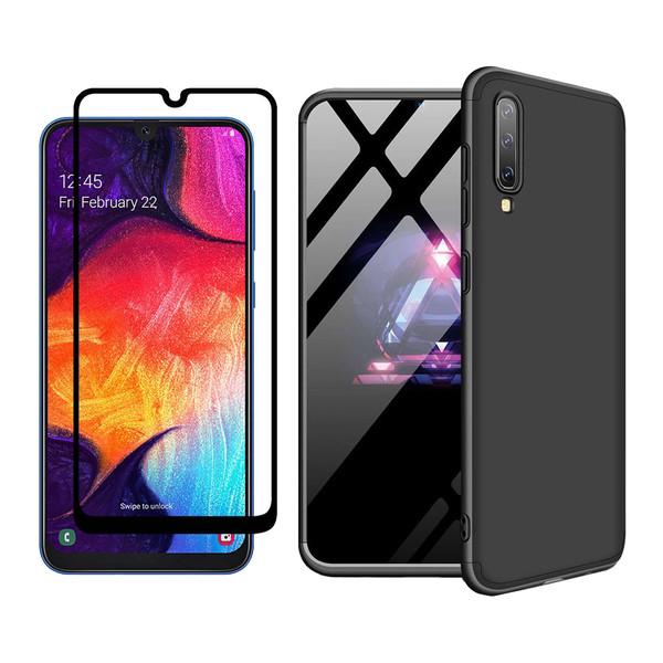 کاور 360 درجه ورلد ویو مدل WGK-WGF-1 مناسب برای گوشی موبایل سامسونگ Galaxy A50/A50S/A30S به همراه محافظ صفحه نمایش