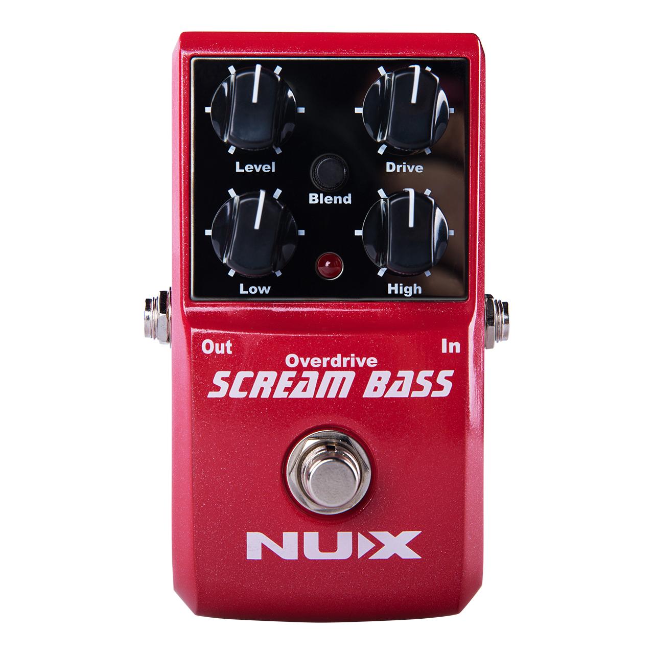 افکت گیتار باس ان یو ایکس مدل Scream Bass