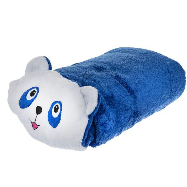 پتوی نوزادی افرا مدل Blue Panda Bear