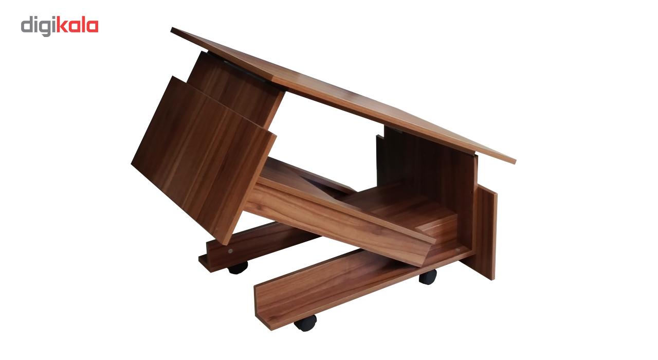 میز جلو مبلی و ناهار خوری تاشو انتخاب اول مدل TO-261