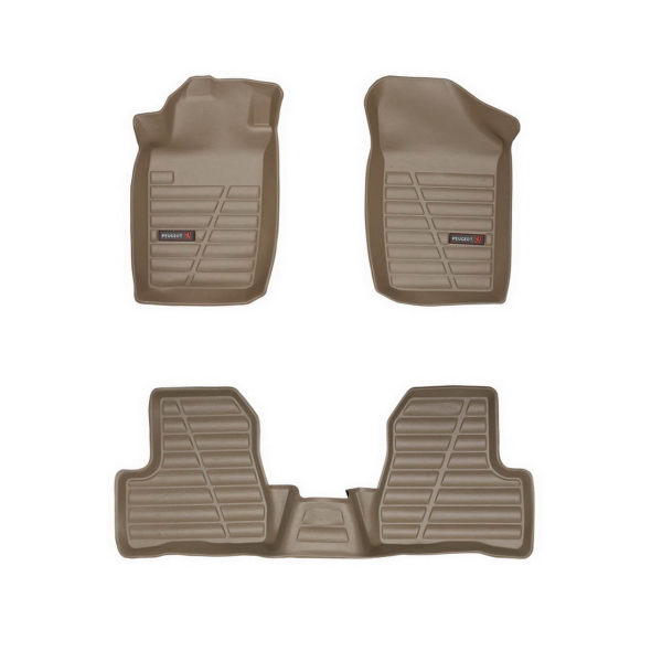 کفپوش سه بعدی چرمی خودرو لاستیک گیلان مناسب برای پژو 207