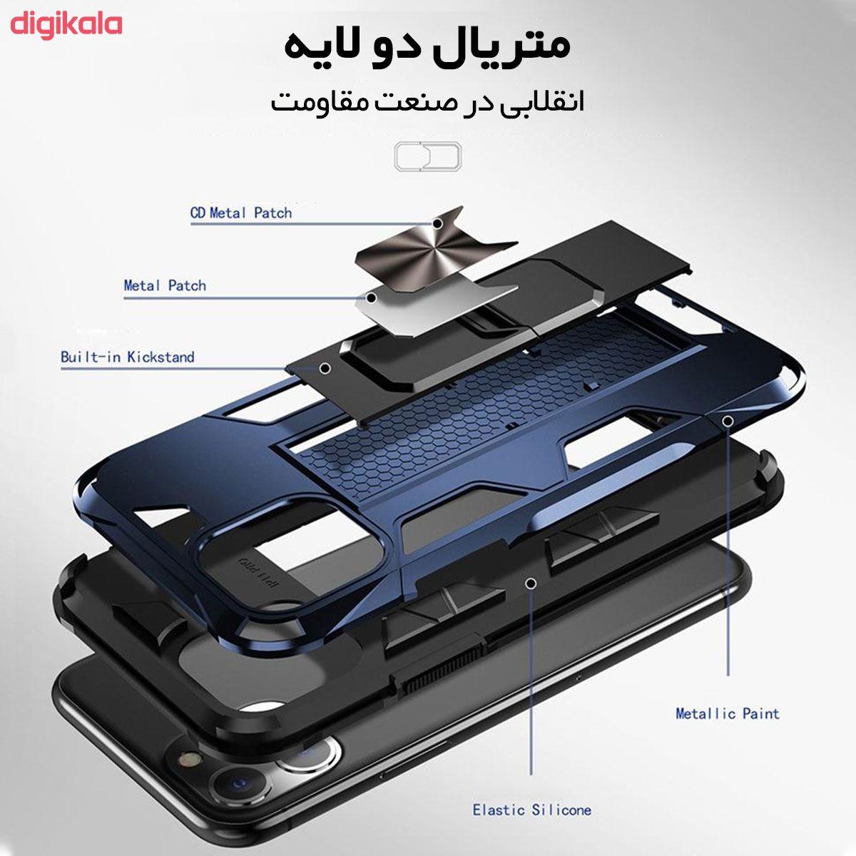 کاور لوکسار مدل Defence90s مناسب برای گوشی موبایل اپل iPhone 11 Pro main 1 4