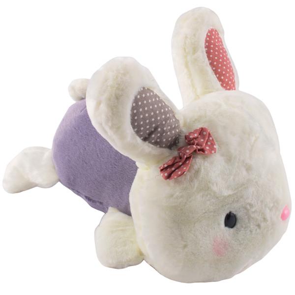 عروسک کیدزلند مدل خرگوش پروانه ای خوابیده کد JT092B ارتفاع 19سانتی متر