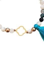 دستبند طلا 18 عیار گرامی گالری مدل B413 -  - 3