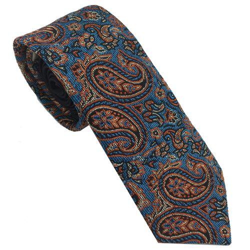کراوات هکس ایران مدل KT-TRM BLU1