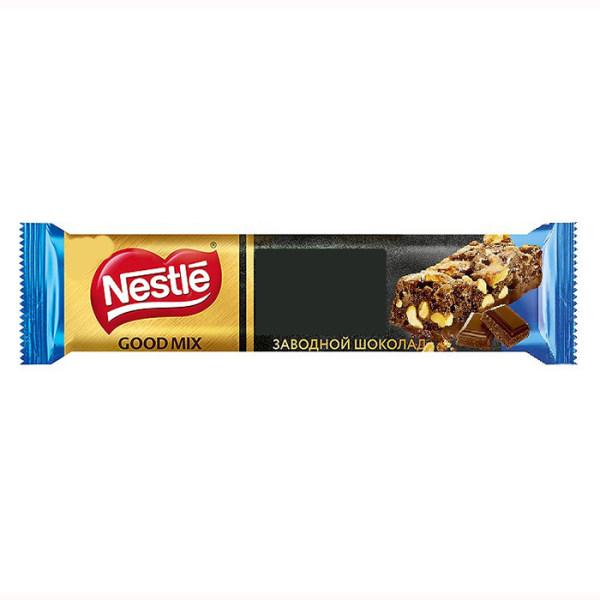 غلات بار شکلات تلخ نستله گود میکس - 33 گرم
