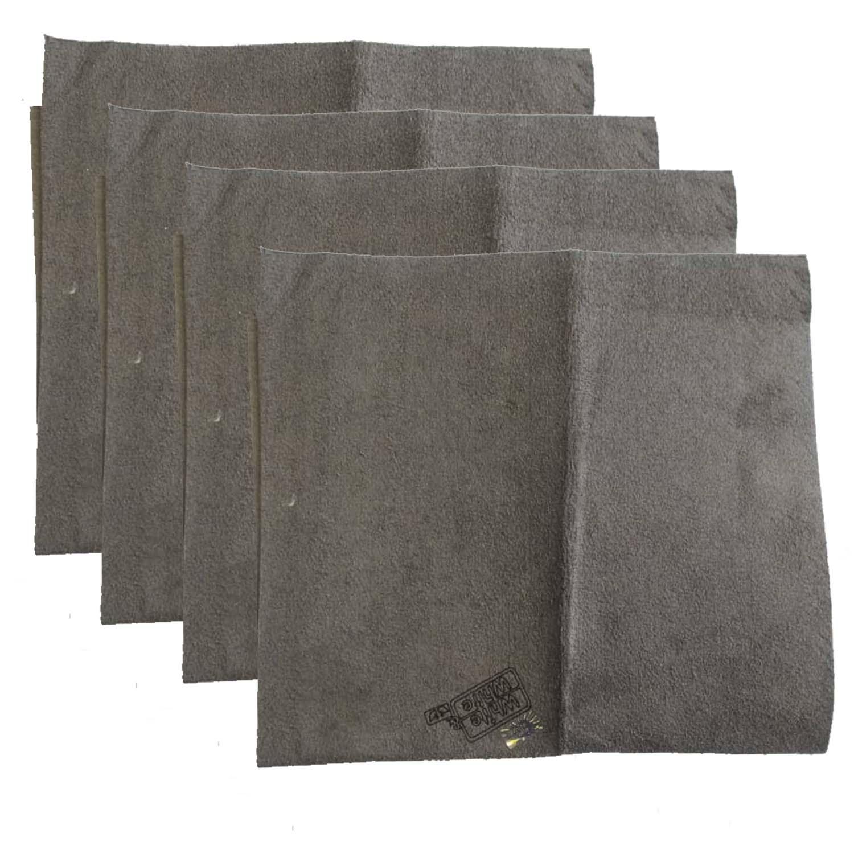 دستمال نظافت خودرو وایت اند وایت مدل W_01 بسته 4 عددی