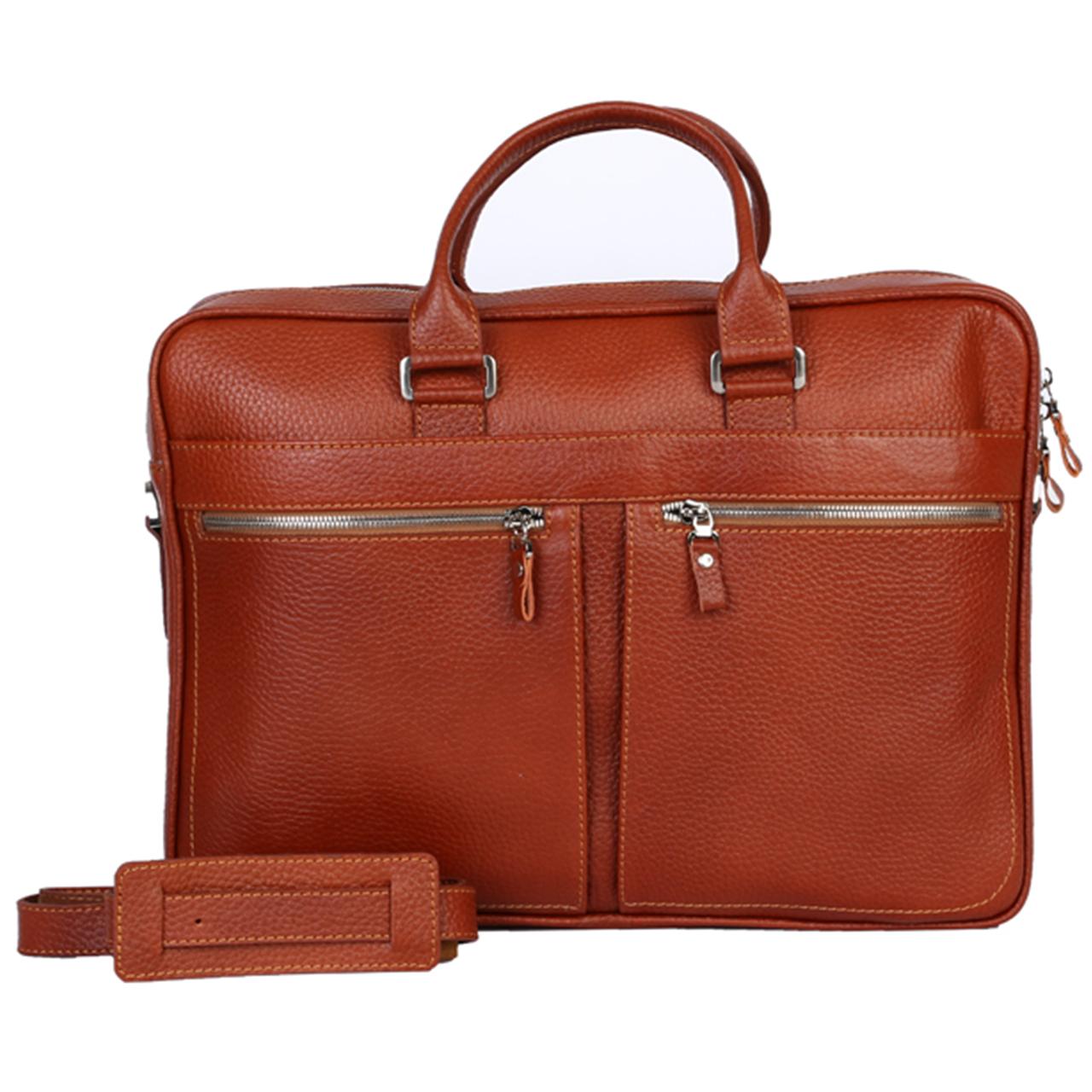 کیف اداری دو دسته رویال چرم کدBL25-Brown
