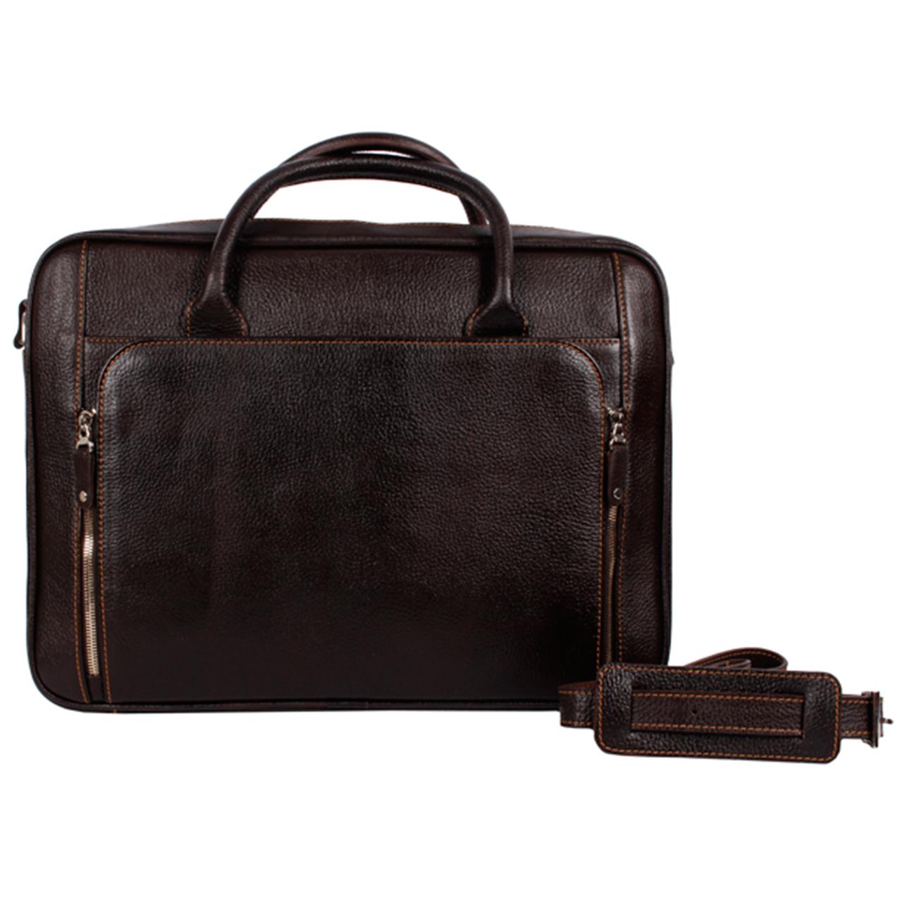 کیف اداری رویال چرم کدBL22-DarkBrown