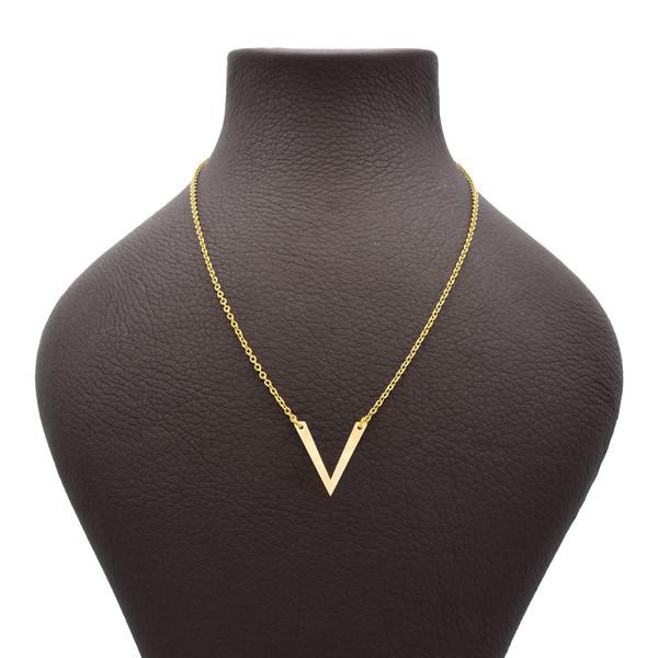 گردنبند طلا 18 عیار زنانه گالری مرجان مدل 1006