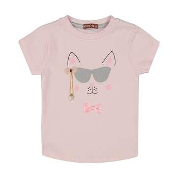 تی شرت دخترانه نونا مدل 2211252-80