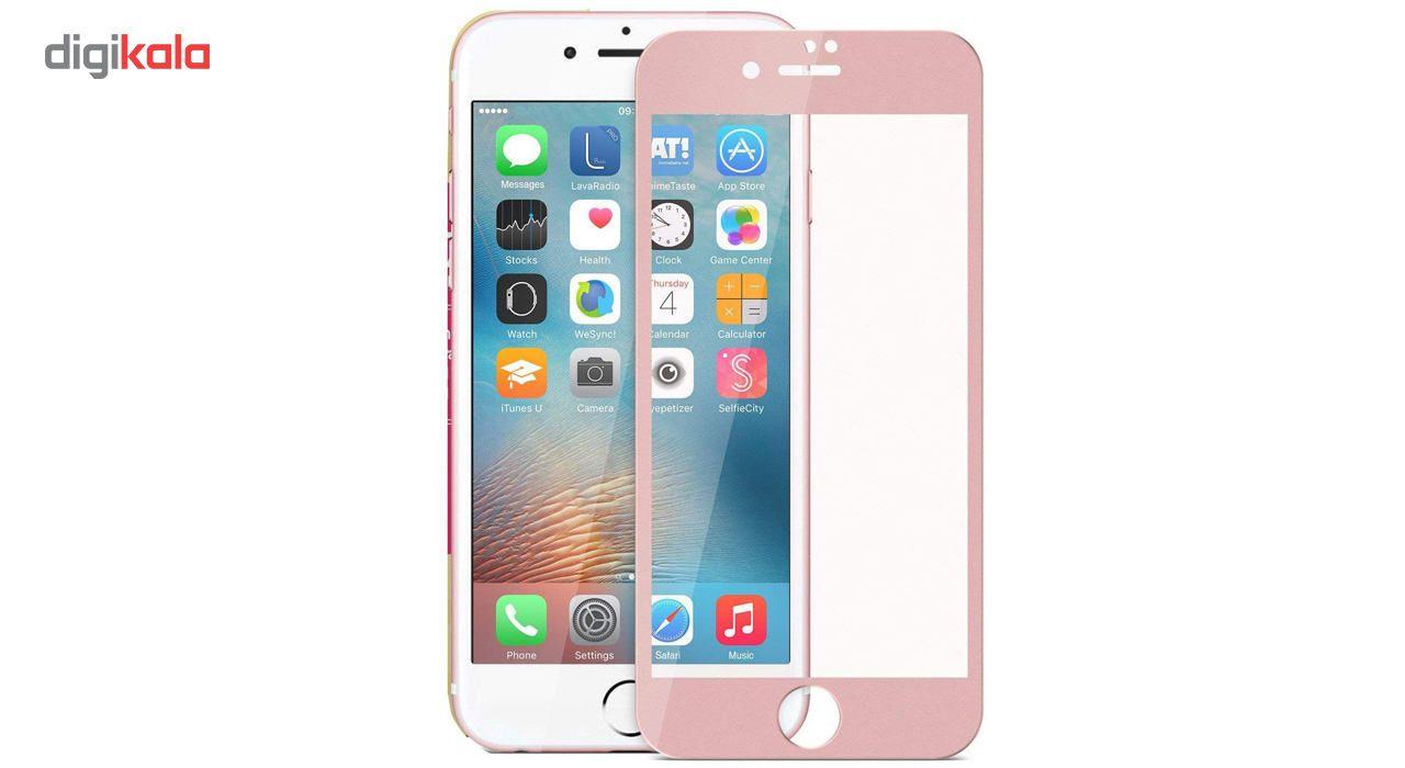 محافظ صفحه نمایش  تمام چسب شیشه ای پیکسی مدل 5D  مناسب برای گوشی اپل آیفون 6/6s main 1 16