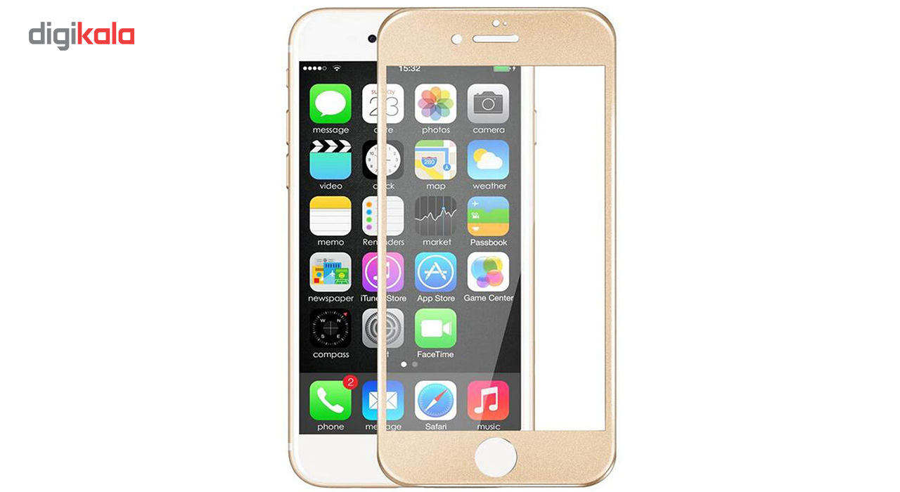 محافظ صفحه نمایش  تمام چسب شیشه ای پیکسی مدل 5D  مناسب برای گوشی اپل آیفون 6/6s main 1 17