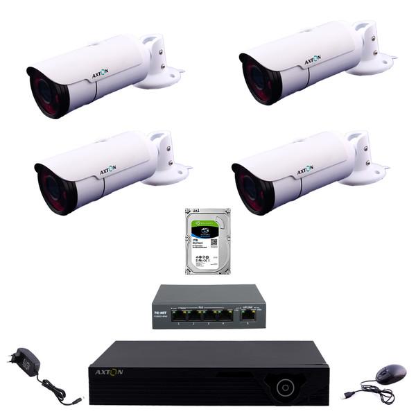 سیستم امنیتی تحت شبکه اکستون مدل NVR412