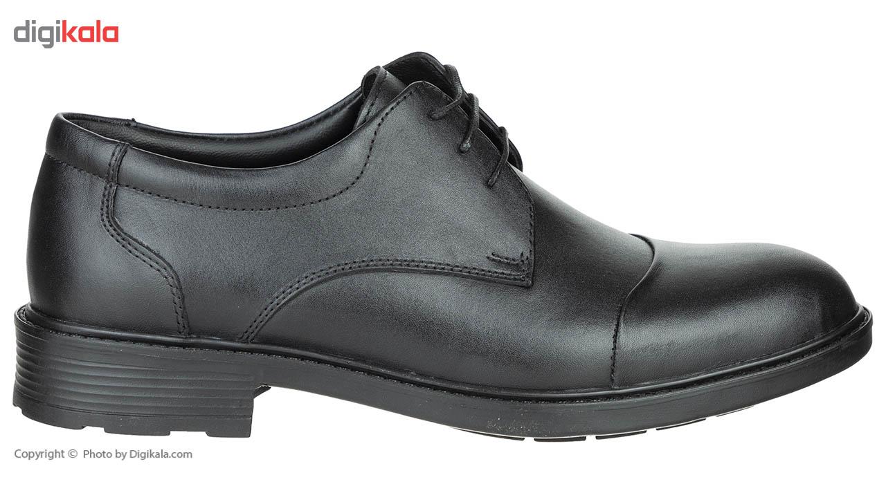 کفش مردانه چرم طبیعی مدل اسکار کد51