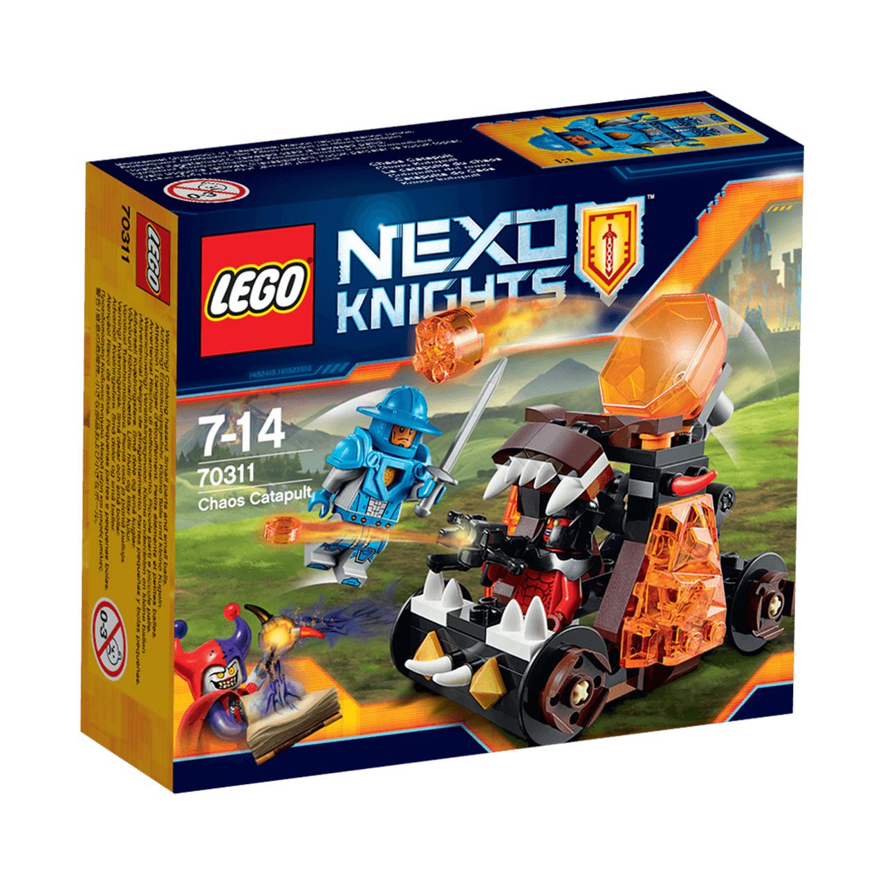 لگو سری Nexo Knight  مدل Chaous Katapult 70311
