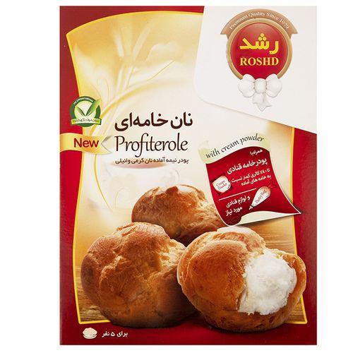 پودر نان خامهای وانیلی رشد مقدار 220 گرم