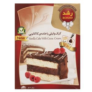 پودر کیک وانیلی با خامه کاکائویی رشد مقدار 500 گرم