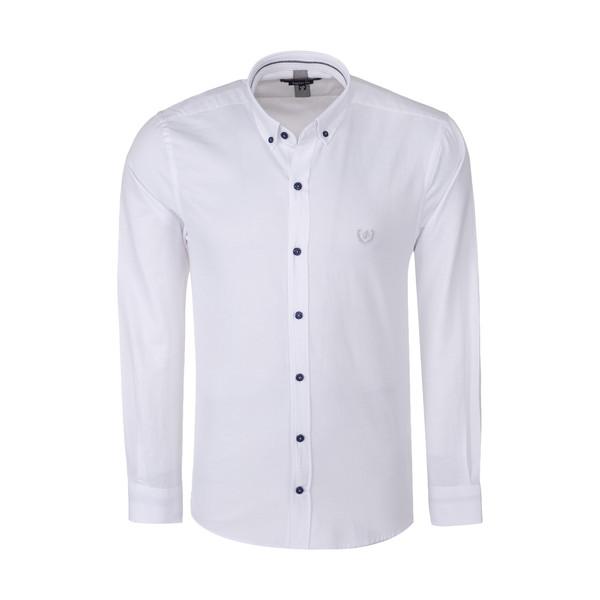 پیراهن آستین بلند مردانه پاتن جامه مدل 102821000109000