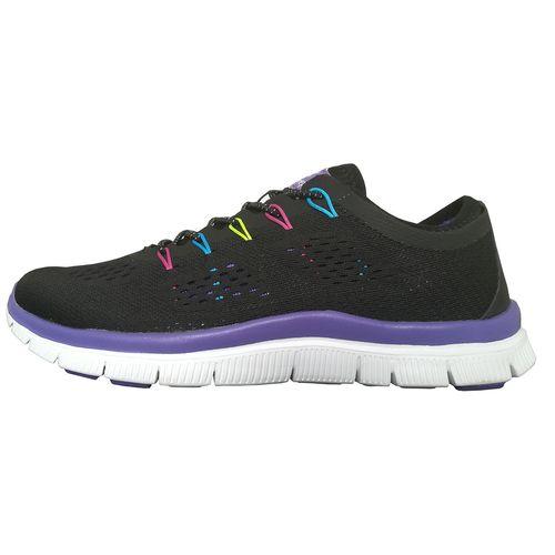 کفش ورزشی دخترانه ساکریکس مدل GSH90102-BLK.PUR