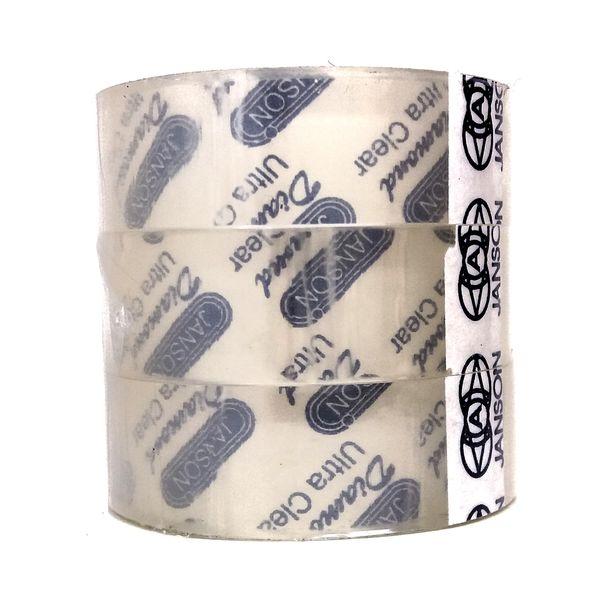 نوار چسب شیشه ای جانسون مدل دیاموند بسته پنج عددی