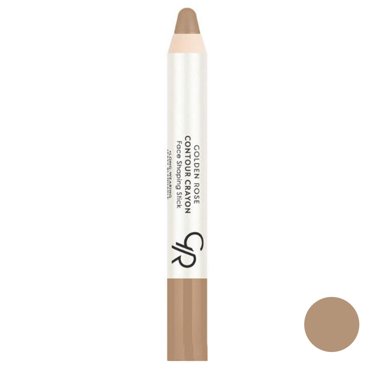 قیمت مداد کانتورینگ گلدن رز شماره 22