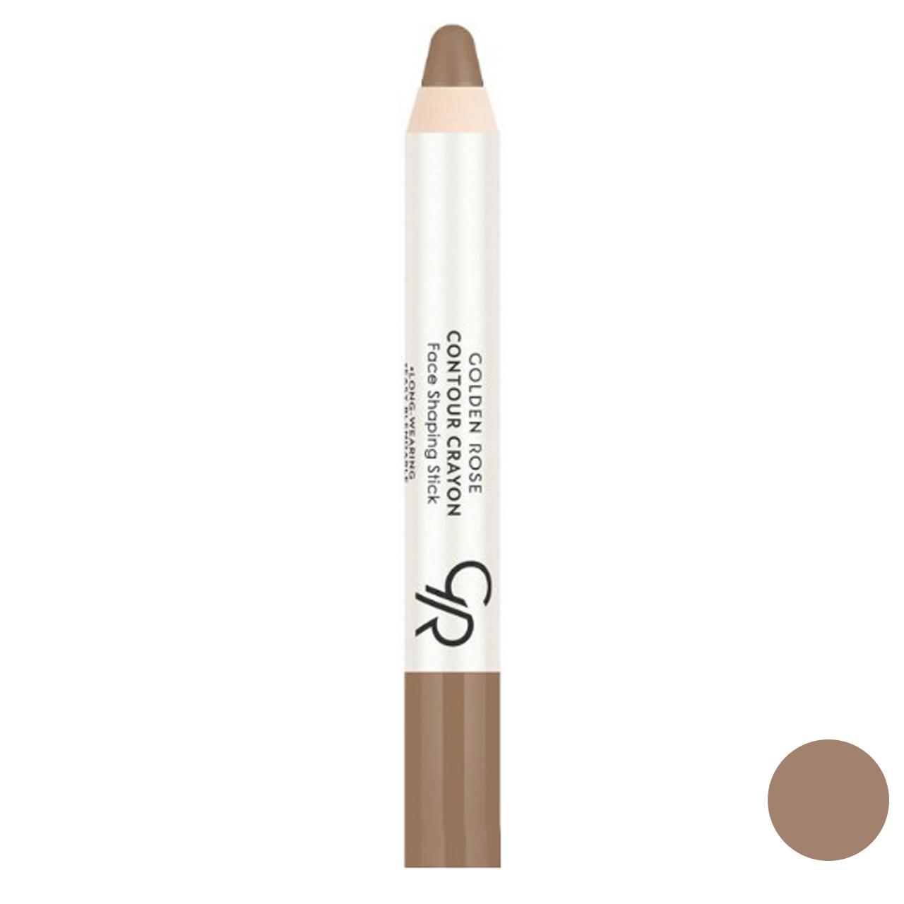 قیمت مداد کانتورینگ گلدن رز شماره 23