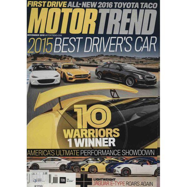 مجله موتور ترند - نوامبر 2015
