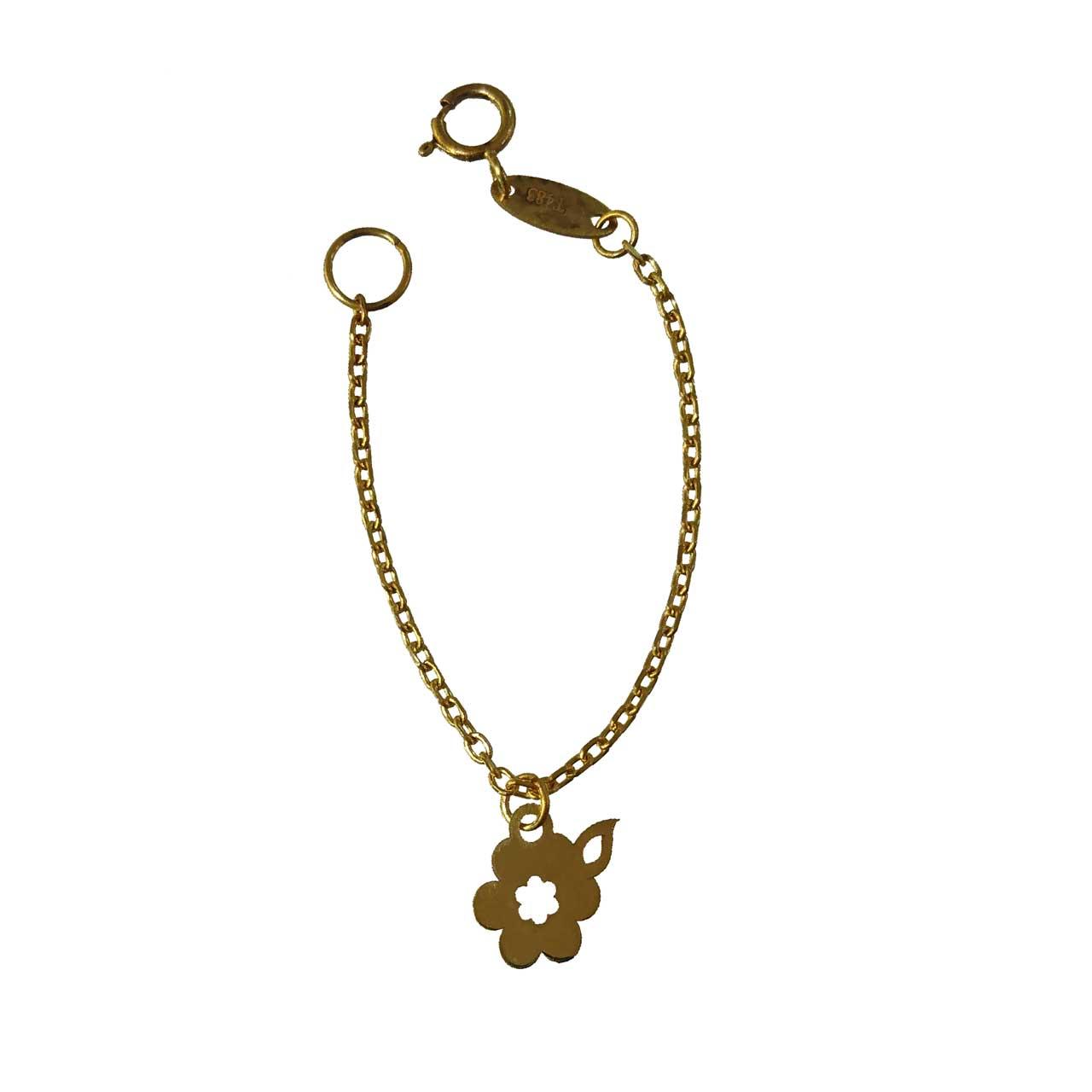 خرید آویز ساعت طلا 18عیار گالری طلای کانیار مدل M793
