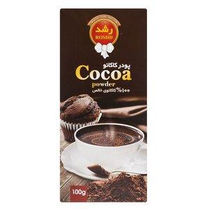 پودر کاکائو رشد مقدار 100 گرم