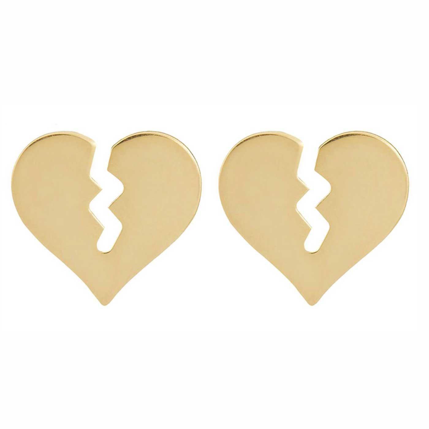 گوشواره طلا 18 عیار زنانه کانیار گالری کد GOA112 -  - 3