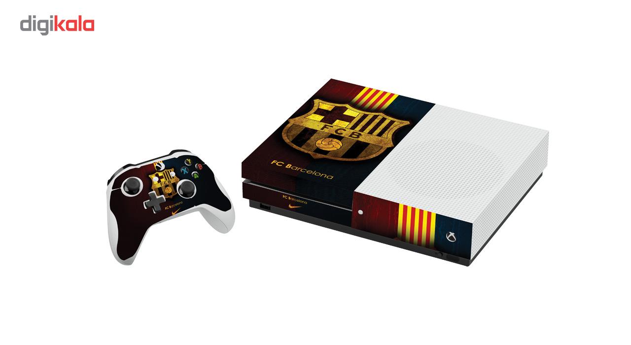 برچسب افقی ایکس باکس One S گراسیپا طرح بارسلونا
