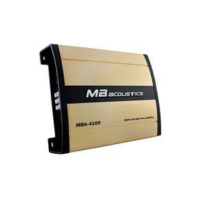 آمپلی فایر خودرو ام-بی آکوستیک مدل MBA-4105