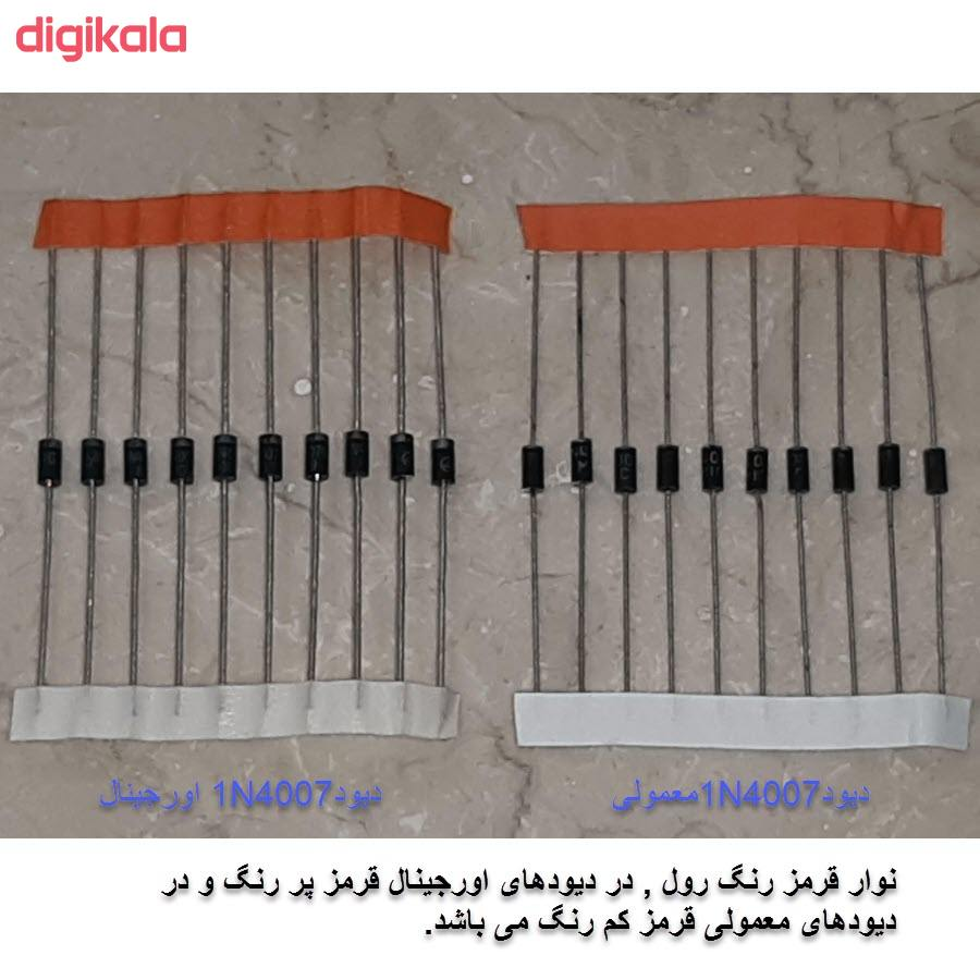 دیود مدل 1N4007 بسته 10 عددی main 1 2