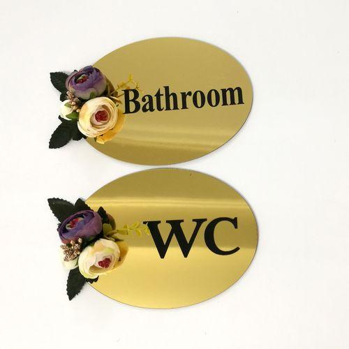 پک 2 عددی استیکر سرویس بهداشتی گل بنفش