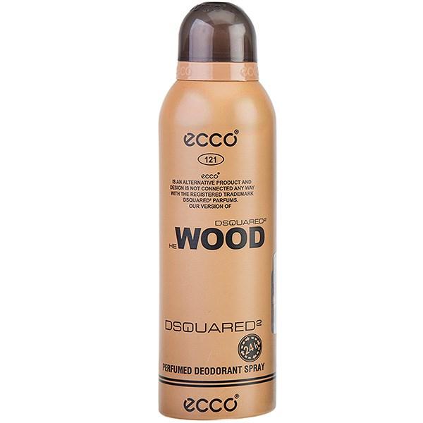 اسپری مردانه اکو مدل Dsquared2 Wood حجم 200 میلی لیتر